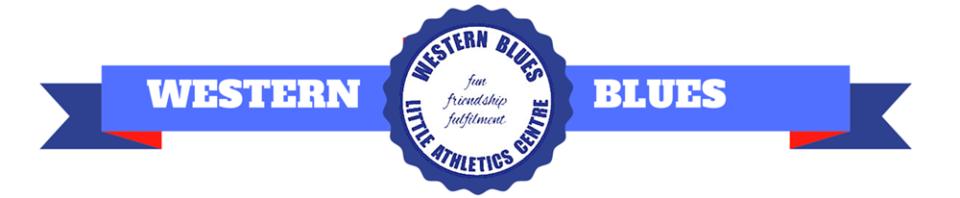 Western Blues Little Athletics Austral Sydney